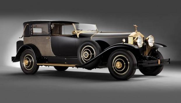 1929 Rolls-Royce Phantom I Riviera Town Brougham, Body by Brewster