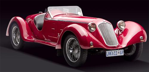 <strong>1929 Alfa Romeo 6C 1750 SS</strong> – Ex-Hugh Gearing, South African; re-bodied in the '30s.