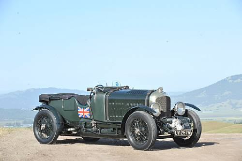 <strong>1929 Bentley 4½-Liter Supercharged Car – Estimate $850,000 - $1,050,000. </strong>