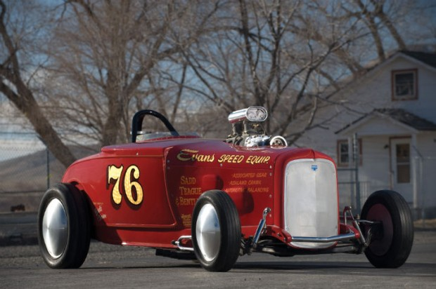 <strong>1929 Ford Model A Roadster - Estimate $150,000 - $200,000.</strong> The 'Saad, Teague & Bentley' Roadster set B/Fuel Roadster record at Bonneville in 1973 with 266.043 runs.