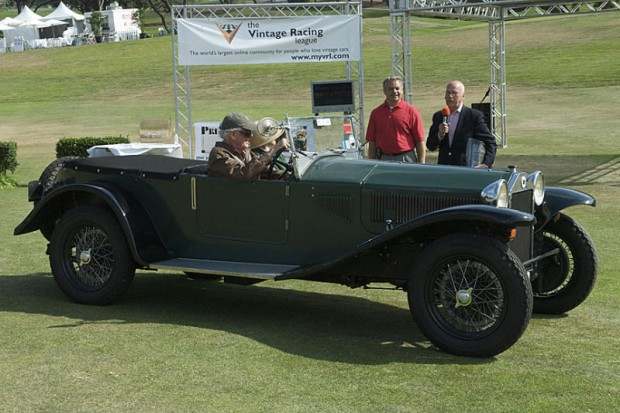 <strong>Best of Show - 1929 Lancia Lambda, Neil Pering, Los Altos Hills, California</strong>