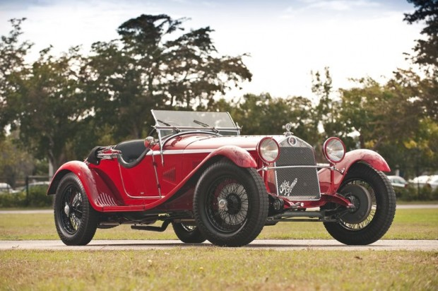 1930 Alfa Romeo 6C 1750 GS Spider by Zagato