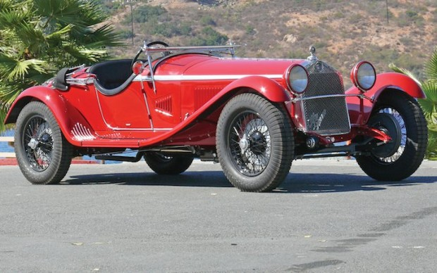 1930 Alfa Romeo 6C 1750 GS by Zagato