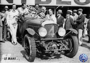 1930 Bentley Speed Six, winner of the 24 Hours of Le Mans