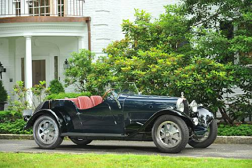1930 Bugatti Type 43 Supercharged Sports 2/4 Seater