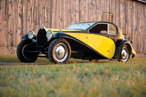 1930 Bugatti Type 46 Superprofile Coupe (photo: Darin Schnabel)