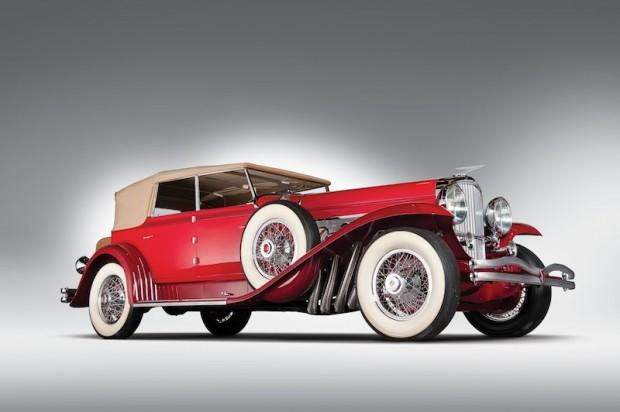 1930 Duesenberg Model J Murphy Convertible Sedan