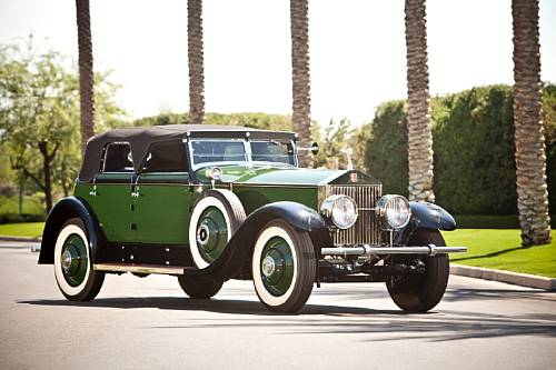 1930 Rolls-Royce Phantom I Transformal Phaeton Marlene Dietrich