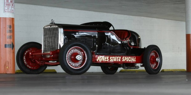 <strong>1930 Stutz Series M Indy Race Car - Estimate $250,000 - $350,000.</strong> Finished 10th at 1930 Indianapolis 500.