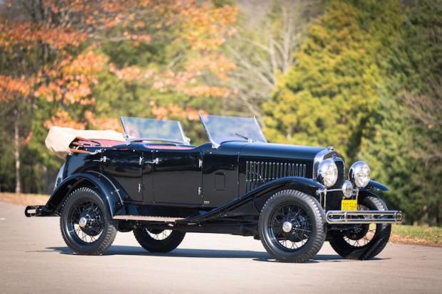 1930 Ford Model A Sport Phaeton by LeBaron