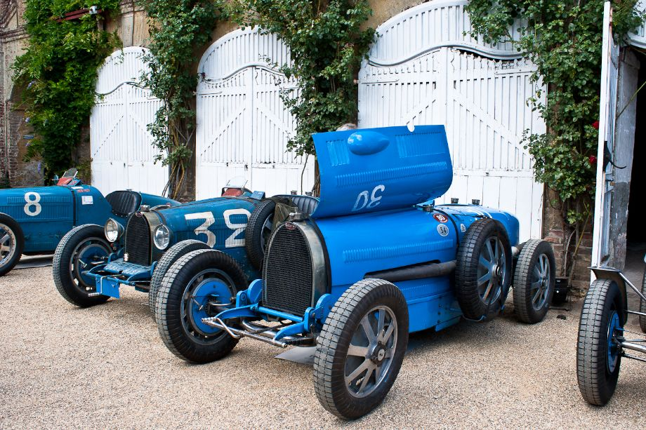 Bugatti Type 54 raced by Achille Varzi at Monza in 1931