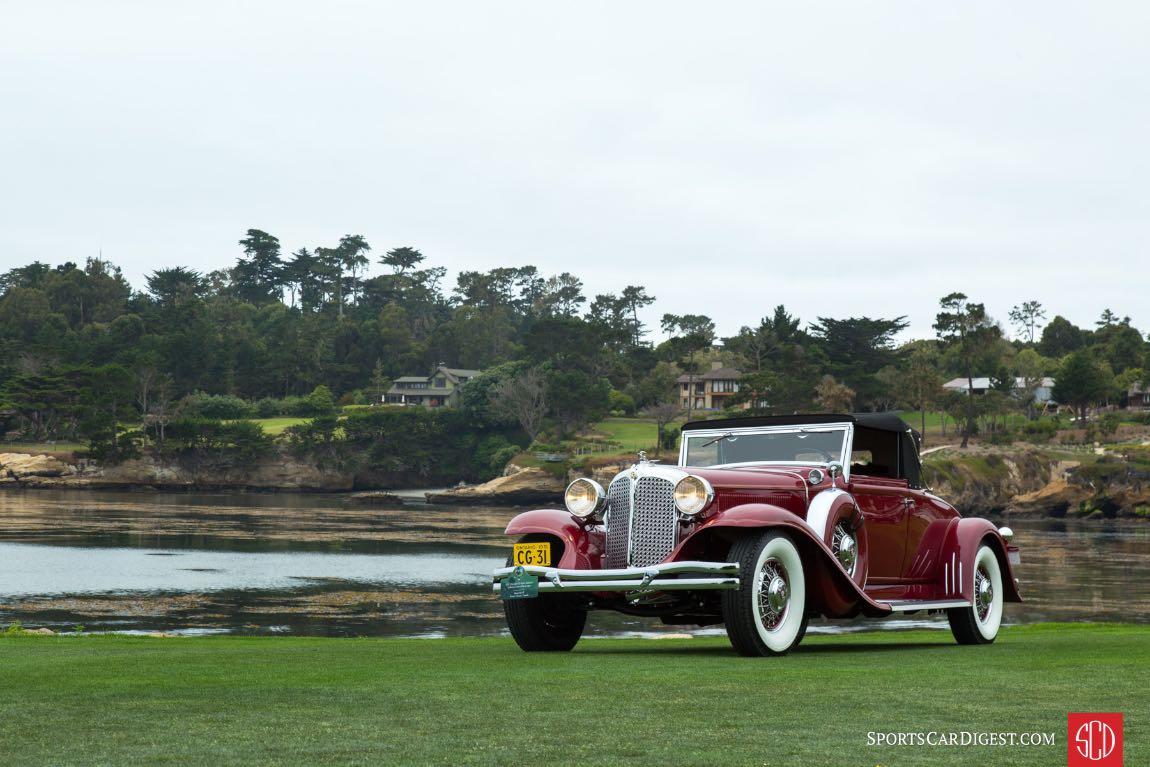 1931 Chrysler CG Imperial LeBaron Convertible Coupe