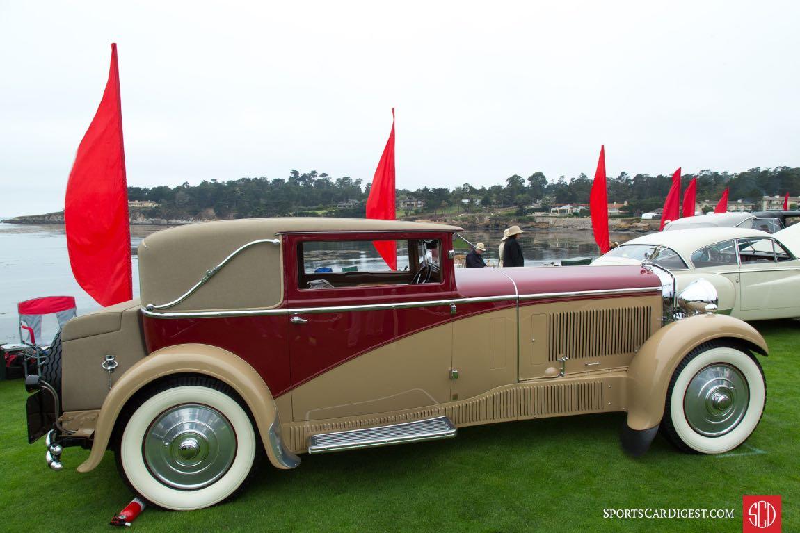 1931 Delage D8 Chapron Victoria Coupe