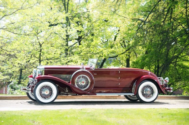 1931 Duesenberg Model SJ Disappearing Top Convertible Coupe