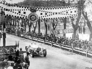 The 1931 Mille Miglia was won by Rudolf Caracciola and his co-driver Wilhelm Sebastian in a Mercedes-Benz SSKL, the first time a foreigner was the overall winner of this famous Italian race.