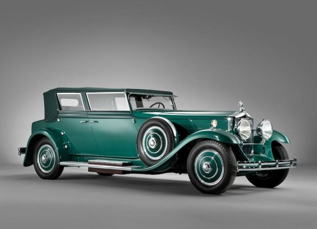 1931 Minerva 8AL Convertible Sedan