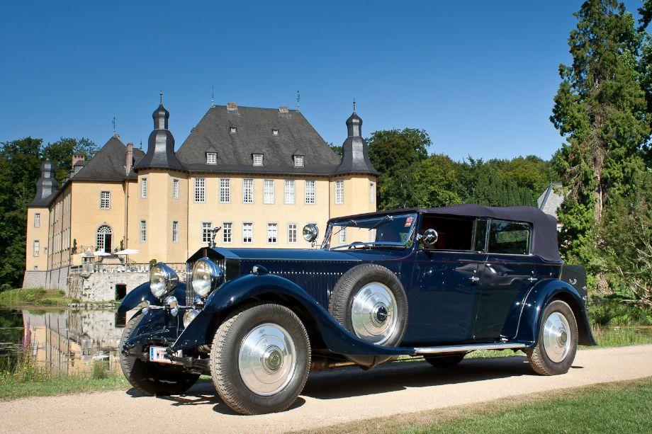 1931 Rolls-Royce Phantom II Sporting Torpedo Cabriolet