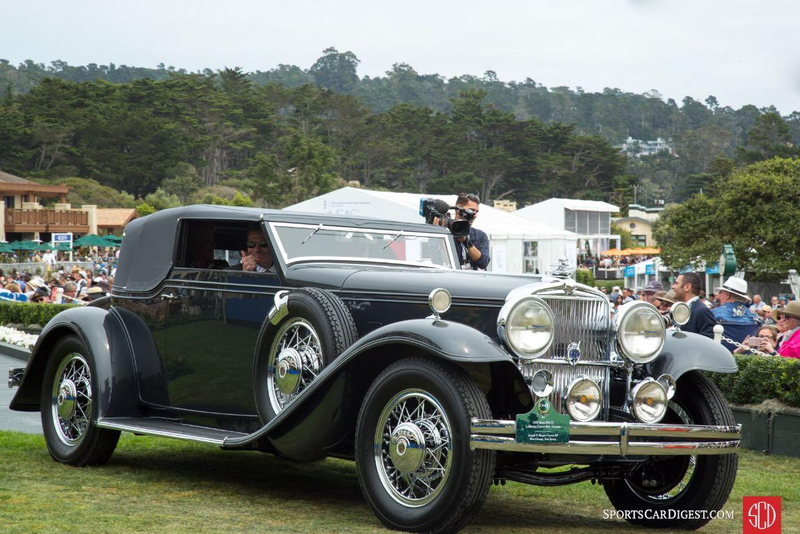 1931 Stutz DV 32 LeBaron Convertible Victoria