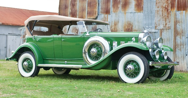 <strong>1931 Cadillac 370-A V12 Dual Cowl Sport Phaeton – Estimate $220,000 - $270,000. </strong>