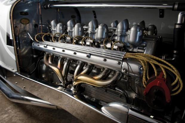 1931 Miller V16 Racing Car Engine