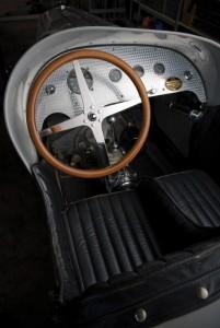 1931 Miller V16 Racing Car Interior