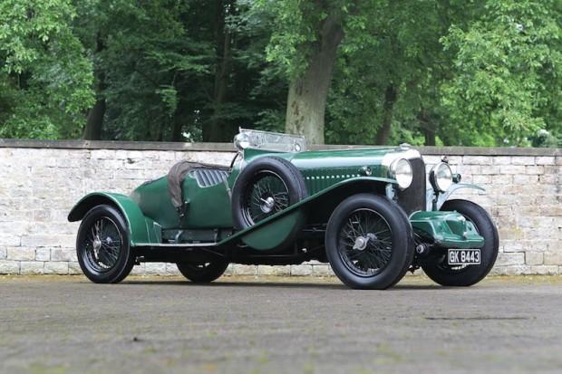 1931 Bentley 4.5 Liter SC Blower Sports 2-3 Seater Boattail