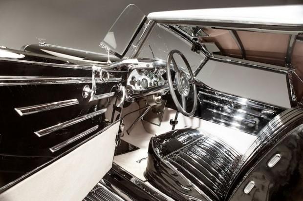 1931 Duesenberg J Coupe Murphy Interior