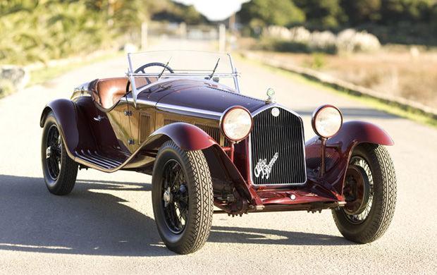 1932 Alfa Romeo 6C 1750 Zagato