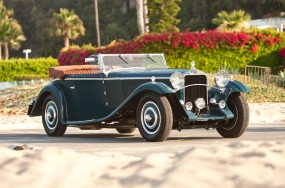 1932 Delage D8-SS Cabriolet by Chapron