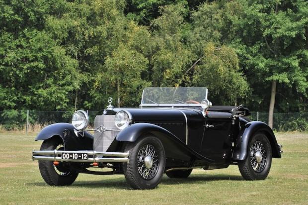 1932 Mercedes-Benz 15-75 HP Mannheim 370 S Sport Roadster