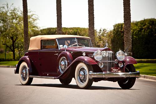 1932 Packard DeLuxe Eight 904 Individual Custom Convertible Victoria Dietrich
