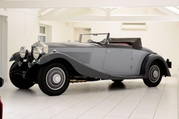 1932 Rolls-Royce Phantom II Continental Drophead Coupe