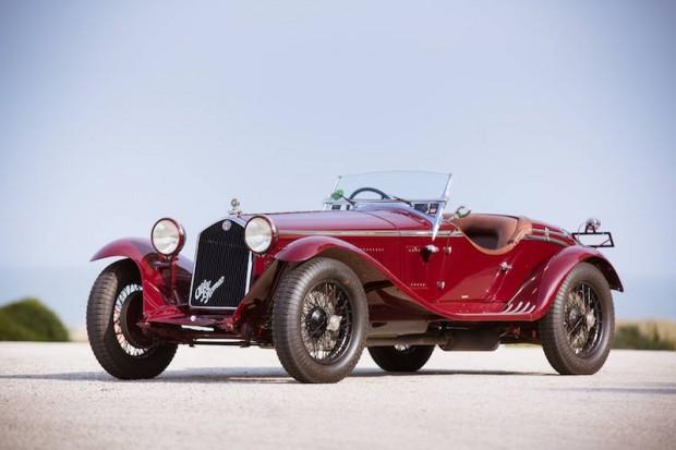 1932 Alfa Romeo 6C 1750 Series V Gran Sport Spider, Body by Zagato