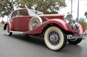 1933 Duesenberg Model J Franay Sports Berline Sedan