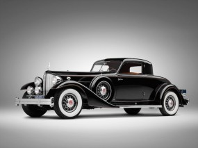 1933 Packard Twelve Custom Dietrich Coupe