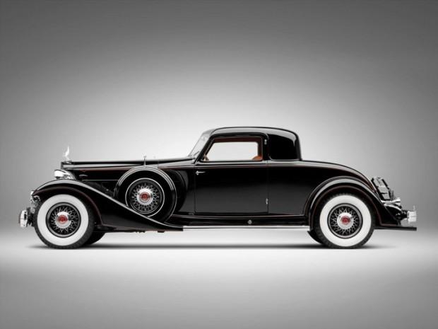 1933 Packard Twelve Custom Dietrich Coupe