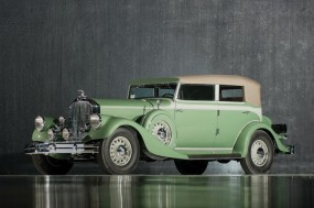 1933 Pierce-Arrow Twelve Convertible Sedan