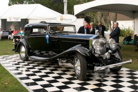 1933 Rolls-Royce Coupe won Best of Show