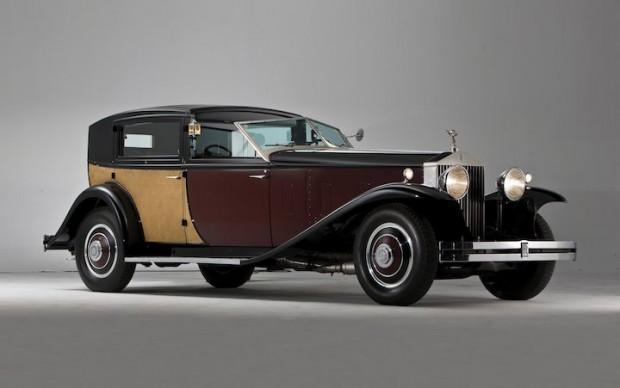 1933 Rolls-Royce Phantom II Special Town Car by Brewster