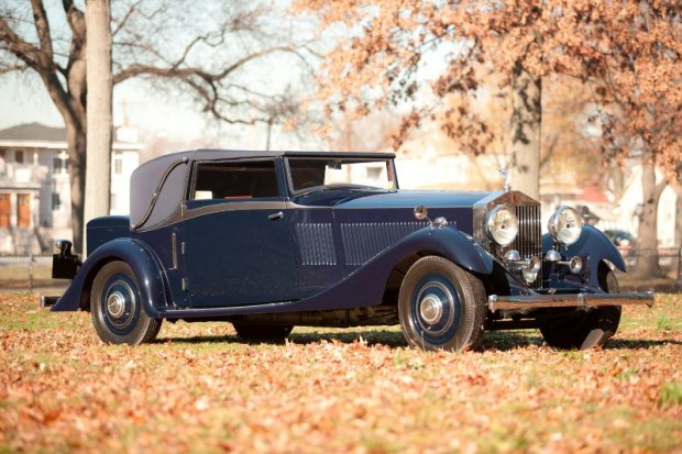 1933 Rolls-Royce Phantom II Continental Sedanca Drop Head Coupe