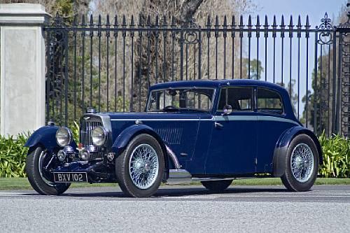 1934 Aston Martin 1½-Litre Mark II Sports Saloon
