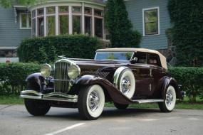 1934 Duesenberg Model JN Convertible Sedan by Rollston