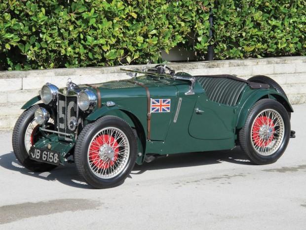 1934 MG PA/B Le Mans Works Racing Car