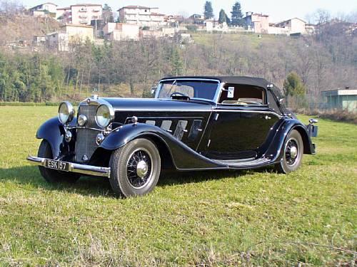1934 Mercedes-Benz 500 Nürburg Cabriolet