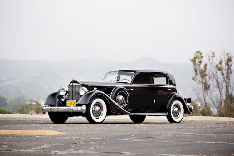 1934 Packard Twelve 1108 Sport Sedan by Dietrich