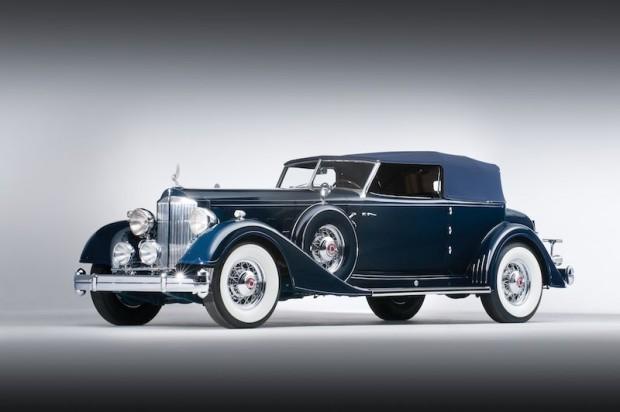 1934 Packard Twelve Convertible Victoria for sale