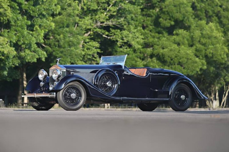 1934 Rolls-Royce Phantom II Continental Two-Seat Drophead Coupe (photo: Mathieu Heurtault)