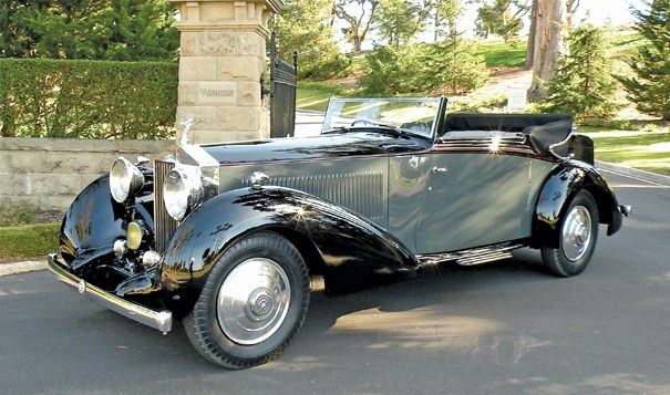 <strong>1934 Rolls-Royce Phantom II Continental Three Position Drophead Coupe – Estimate $475,000 - $575,000.</strong>