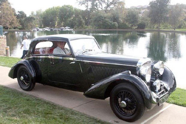<strong>Most Elegant Motorcar - 1935 Bentley 3 1/2 Litre Bertelli Coupe - Robert Cole, Woodside, CA</strong>