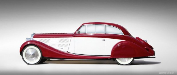 1935 Delage D8 105 S Streamlined Coupe for sale